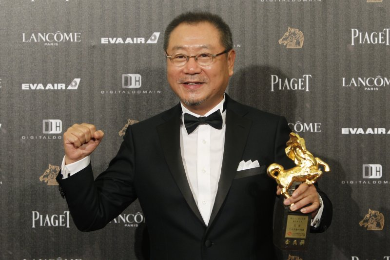范偉以《不成問題的問題》,獲得金馬獎最佳男主角。(美聯社)