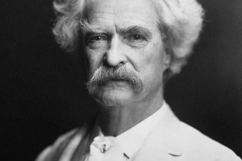 1907年的馬克吐溫(Wikipedia/Public Domain)