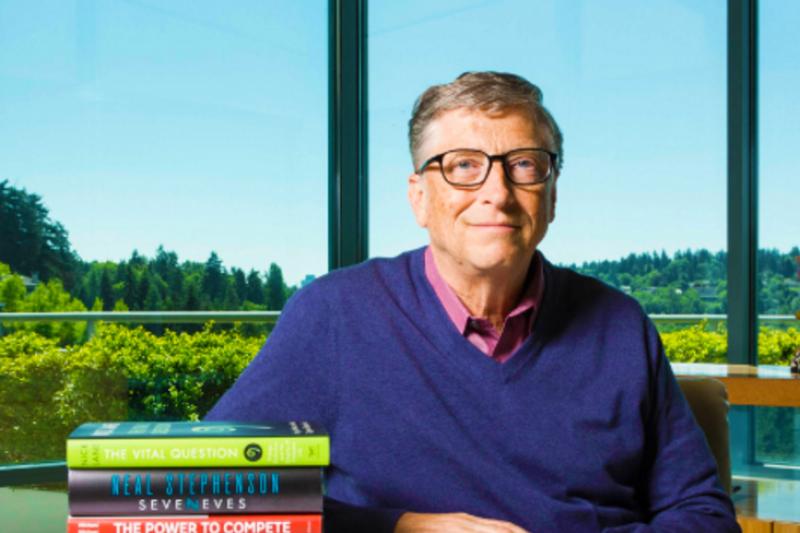 比爾蓋茲列出他今年最愛的5本書,究竟是哪些呢?(圖/gatesnote)