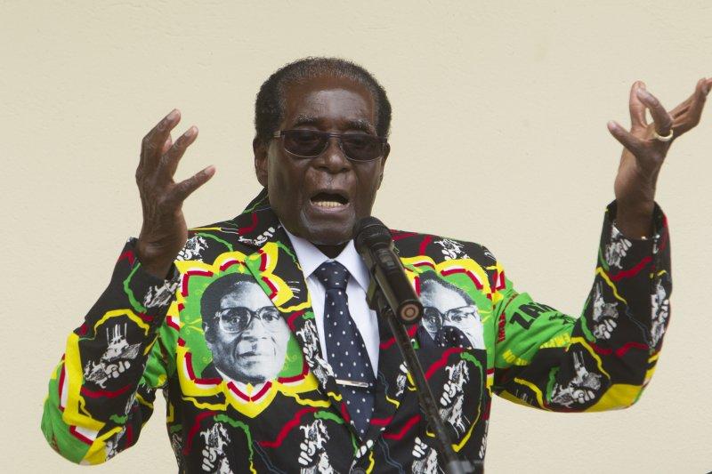 非洲國家辛巴威的萬年總統穆加比(Robert Mugabe)(AP)