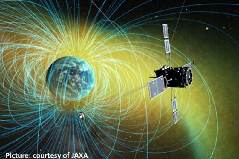 台灣與日本合作打造的「ERG」科學衛星20日順利升空(成大)