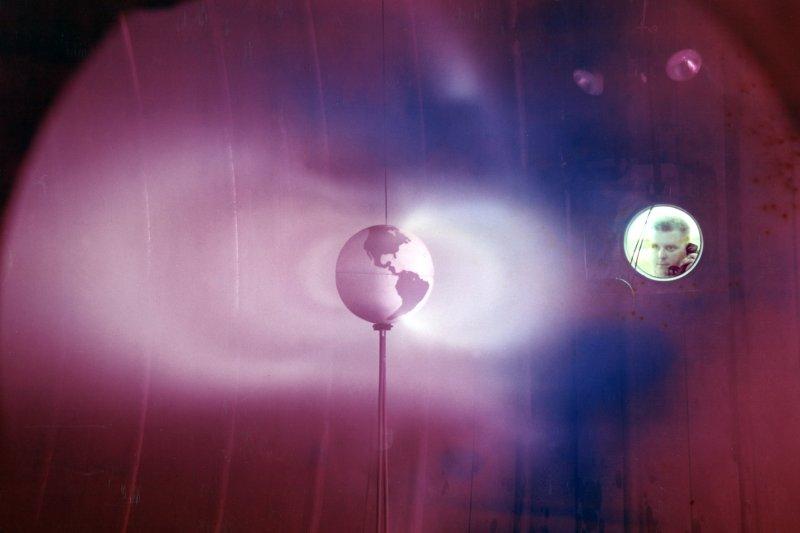 范艾倫輻射帶(Van Allen radiation belt)模擬(Wikipedia / Public Domain)