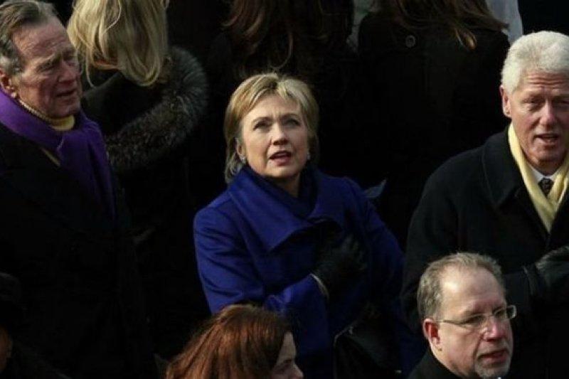 柯林頓夫婦將會參加川普的就職典禮。(BBC中文網)
