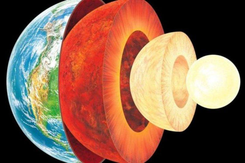 有關研究發現,地核內除了鐵和鎳,可能還有硅元素的存在。(BBC中文網)