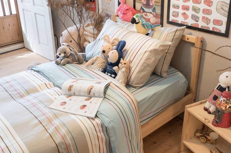 這些品牌的床包品質良好、設計簡約,價格更是超感人的2000元有找!(圖/棉床本舖@facebook)