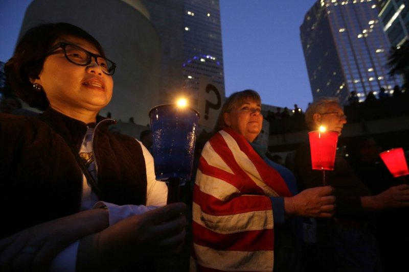 川普針對穆斯林發布簽證禁令,引發全球抗議(AP)