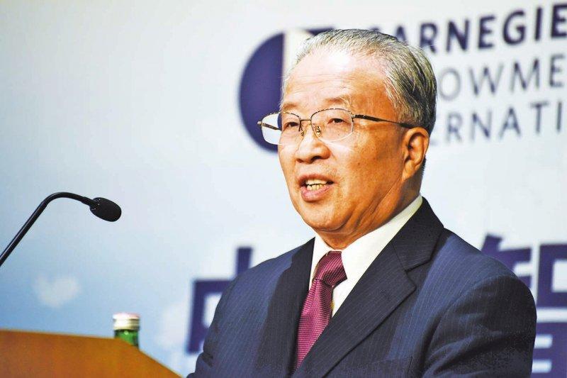 中國「全國台灣研究會」新任會長戴秉國(取自網路)