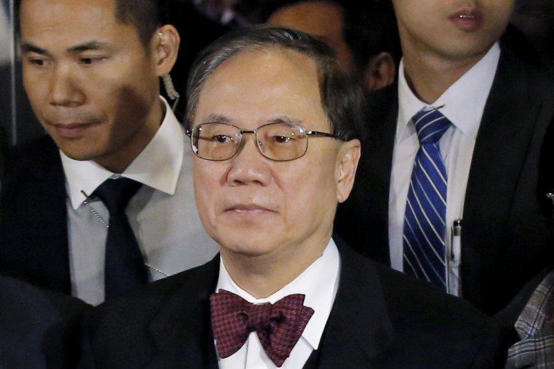 香港前任特首曾蔭權(AP)