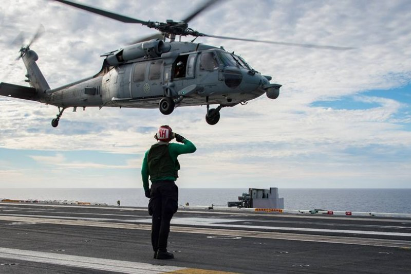 美軍卡爾文森號(USS Carl Vinson)(USS Carl Vinson Facebook)