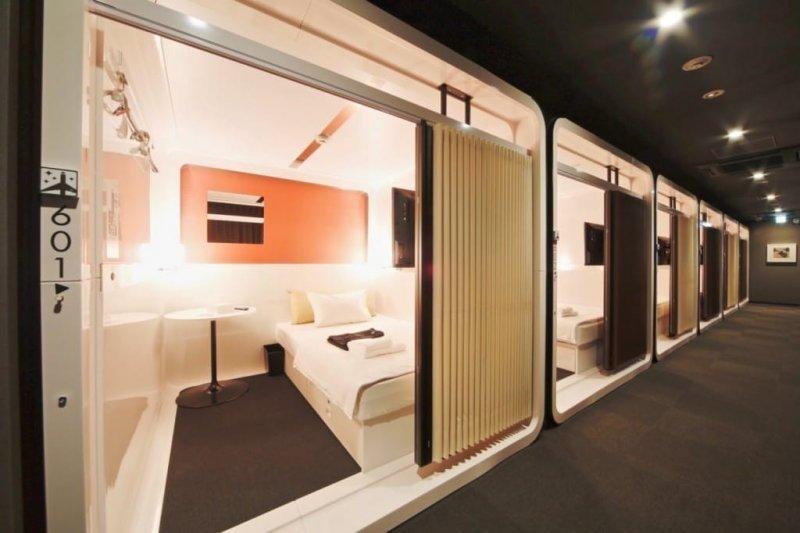 千萬別以為膠囊旅館很爛,東京這5家可是各有特色啊!(圖/MATCHA提供)