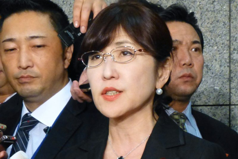 日本防衛大臣稻田朋美。(美聯社)