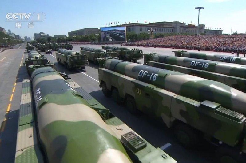 東風16型彈道飛彈(取自網路)