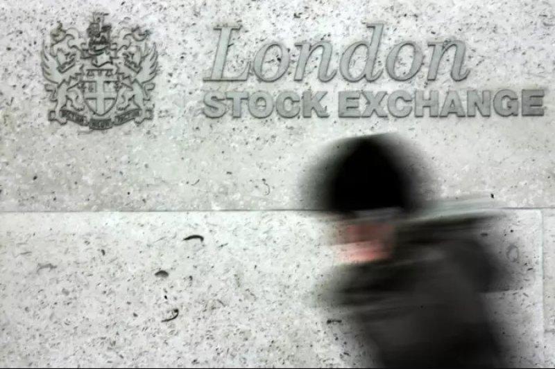 英國倫敦證券交易所(美聯社)