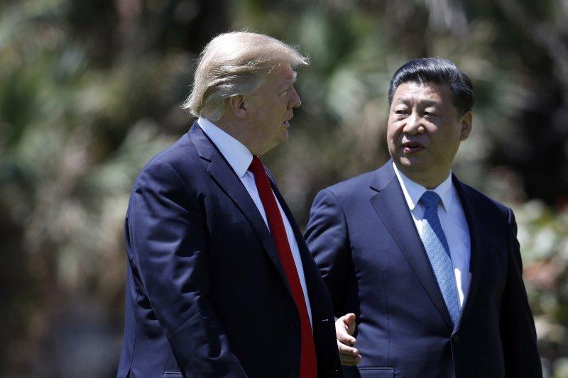 川普選 301條款對付中國,反而是「最令人心安」的決定。圖為川習會。(AP)