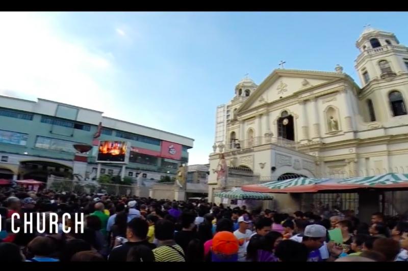菲國聖週進高潮豬牛雞鴨最高興