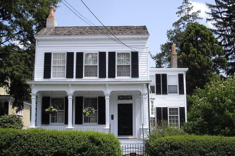 愛因斯坦在普林斯頓的居所。(Dmadeo@wikipedia/CC by-SA 3.0)