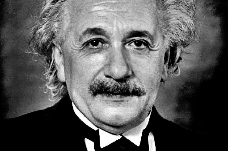 愛因斯坦在普林斯頓的照片。(wikipedia/public domain)