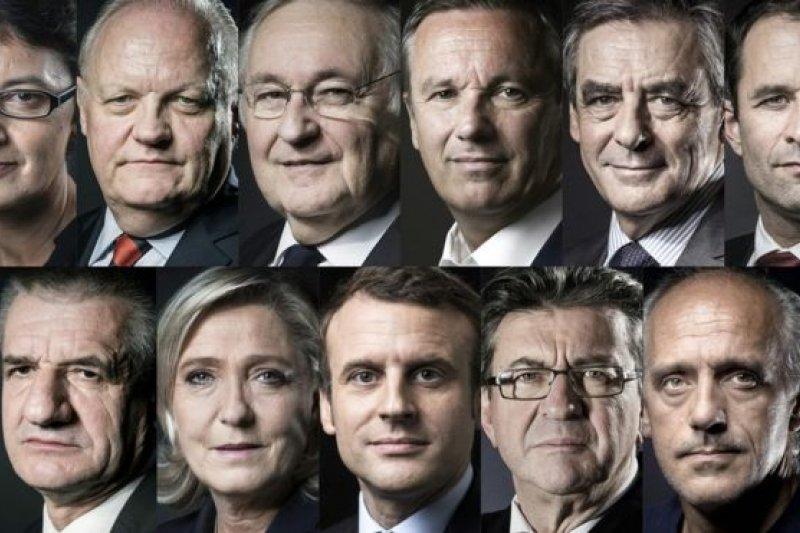 法國總統大選將於本月23日展開首輪投票(BBC中文網)