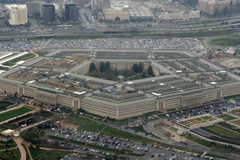 圖為美國國防部五角大廈。美國防部將台灣列入中國地圖,緊急更正《核態勢評估報告》。(AP)