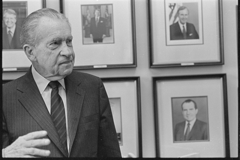 美國總統尼克森,攝於1992年,過世前兩年(Wikipedia / Public Domain)