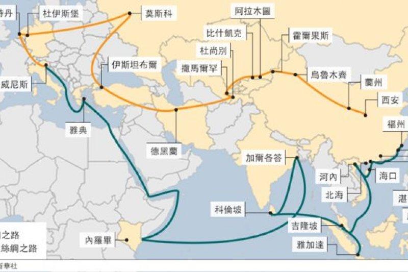 中國推行一帶一路這個人類歷史上最大的基礎設施項目,中國要營造結束西方主宰世界的新格局嗎?(BBC中文網)