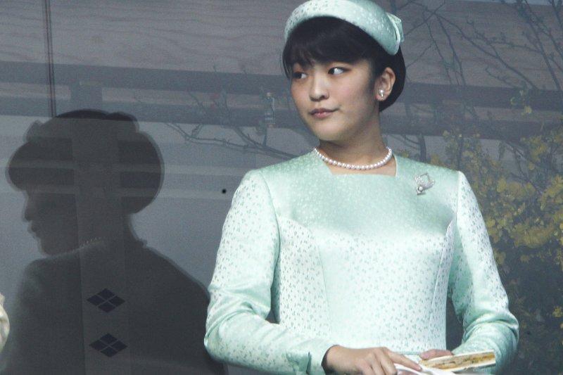 日本明仁天皇的長孫女真子公主(AP)