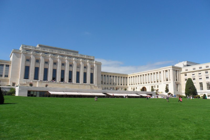 日內瓦萬國宮(Palais des Nations)(Moumou82 @Wikipedia / CC BY-SA 3.0)