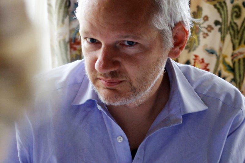 揭密網站「維基解密」創辦人阿桑奇(Julian Assange):「我不會原諒,也不會遺忘。」(AP)