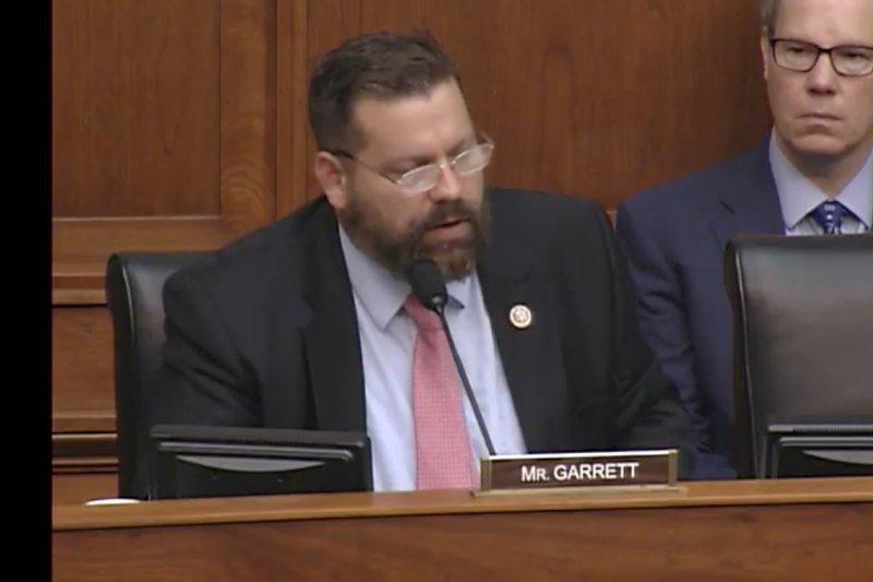 20170519-眾議員蓋瑞特(Thomas Garrett)。(取自美國聯邦眾議院外交委員會網路轉播)