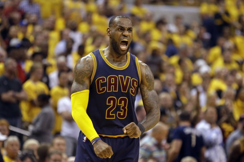 克利夫蘭騎士隊,詹姆斯(LeBron James),NBA霸主(AP)