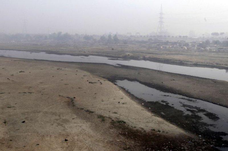 印度河在巴基斯坦境內的支流——拉維河。(美國之音)