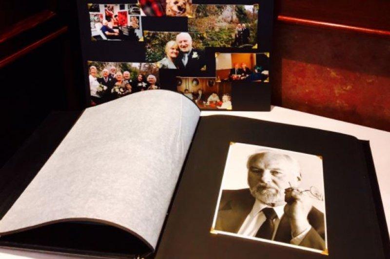 78歲加拿大公民謝爾德(John Shields)選擇安樂死,還安排了自己的告別式。(截圖自twitter)