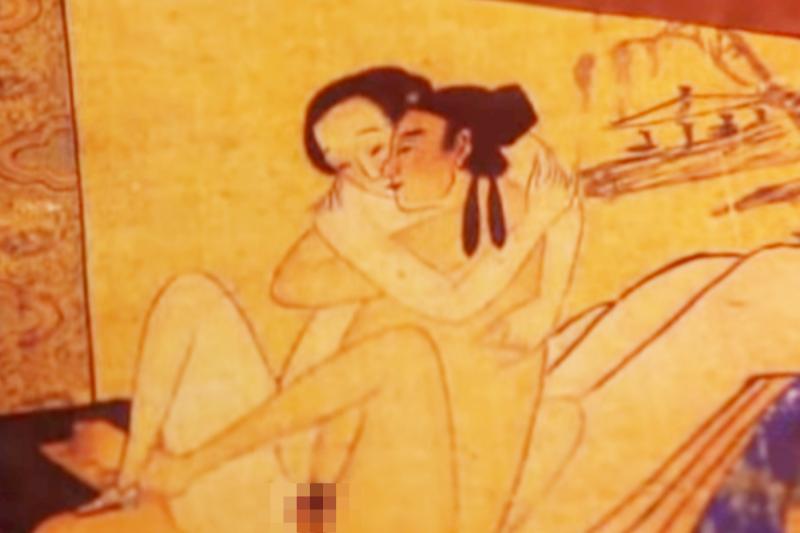 遇上李瓶兒,期盼成為「全國第一性愛高手」的西門慶也不自覺顯露了真心。(圖擷取自Youtube)