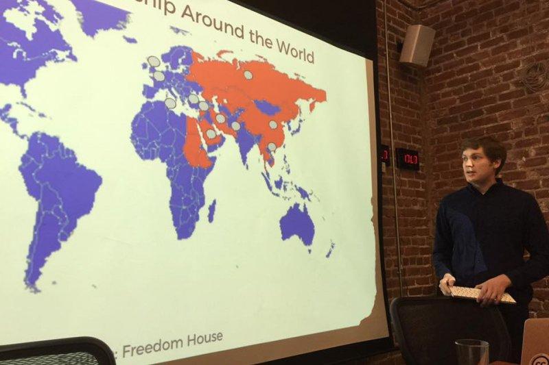 維基媒體基金會關切維基百科在部分國家遭受審查(簡恒宇攝)