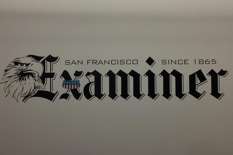 《舊金山觀察報》是美國加州舊金山當地最老報紙(簡恒宇攝)