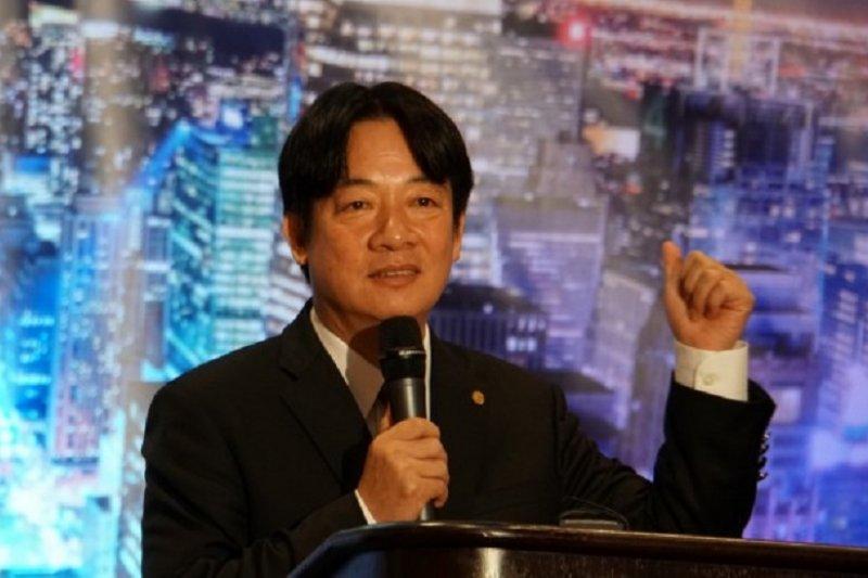 台南市長賴清德訪美,闡釋「親中愛台」。(台南市政府)