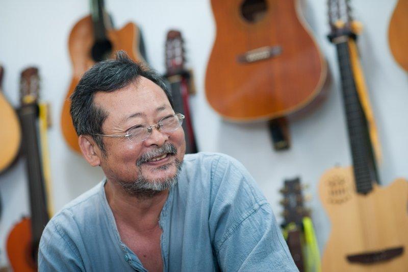 陳明章以一個文化人的角度去關心時代、參與社會,在批判的同時,其實是對台灣這塊土地更深的關懷。(圖/想想論壇提供)