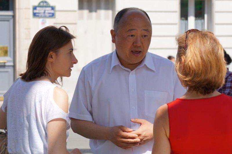 法國第一位本土華裔國民議會議員陳文雄(陳文雄 Twitter)