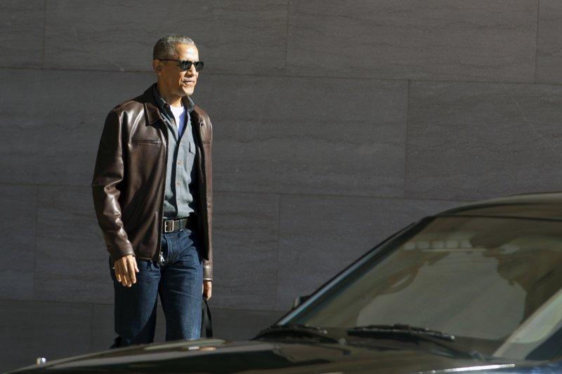 美國前總統歐巴馬卸任後依然行程滿檔(AP)