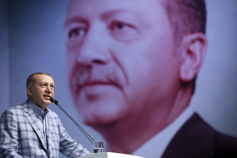土耳其總統艾爾多安痛批海灣國家毫不尊重土卡雙邊關係。(美聯社)