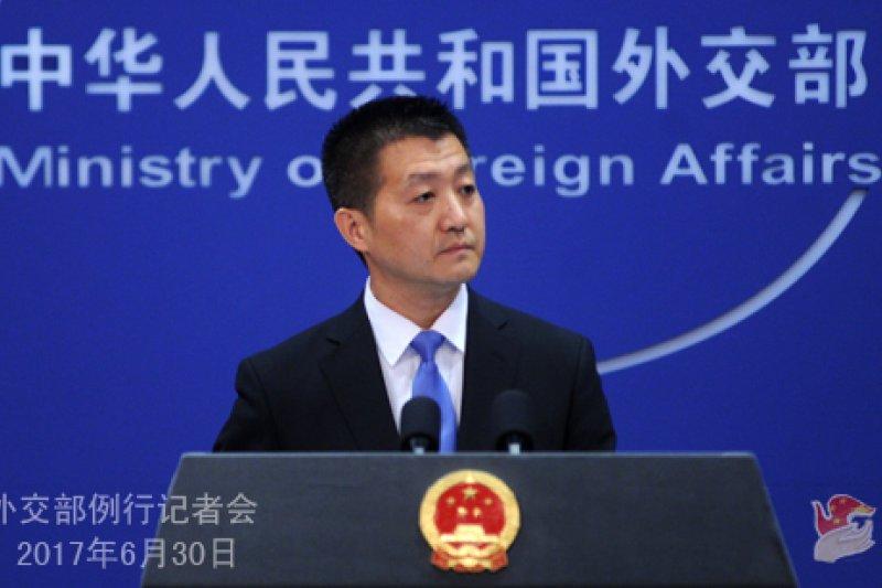 中國外交部發言人陸慷表示中國仍堅持和平統一、一國兩制的立場,並未改變。(資料照)