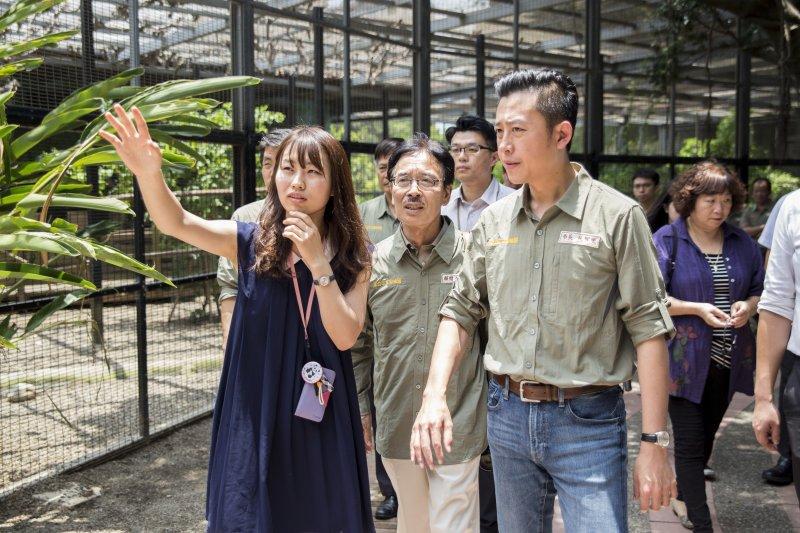 Yumi期望讓新竹市立動物園打造成一個世界上最能讓孩子充滿夢想的動物園。〈新竹市立動物園提供〉