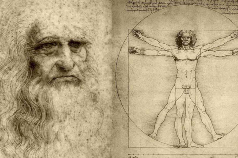 傳奇藝術家達文西,一生創造無數流傳至今的經典成就。(圖擷取自Youtube)