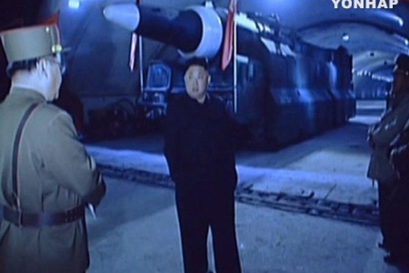 KBS分析,北韓很可能將戰略飛彈保管在地下設施內。