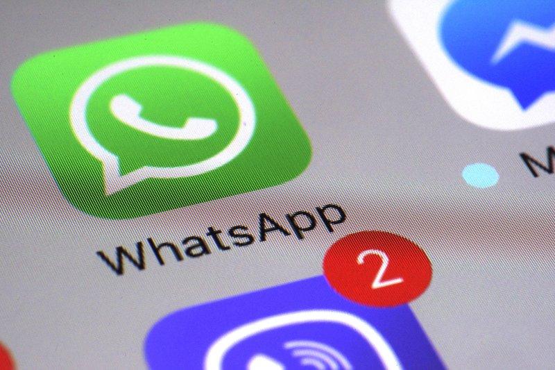 手機通訊軟體WhatsApp在印度成為假新聞流竄的溫床。(美聯社)