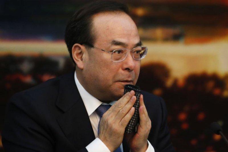 2017年3月6日,中共重慶市委書記孫政才在北京開會。美聯社當時說,孫政才是爭取在中共十九大成為政治局常委的競爭者之一。