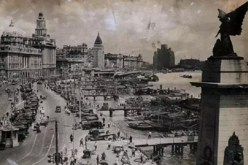 十里洋場老上海。