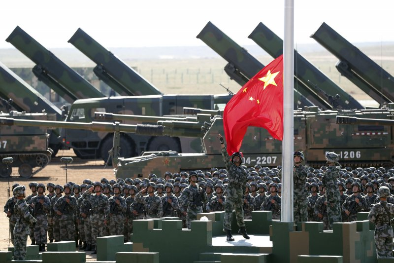中國人民解放軍慶祝建軍90周年大閱兵(AP)