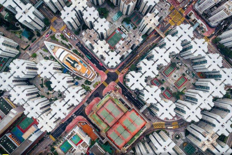 香港攝影師楊安迪鏡頭下的香港,獲得國家地理年度攝影大賽城市組亞軍。(圖/Andy Yeung Photography)