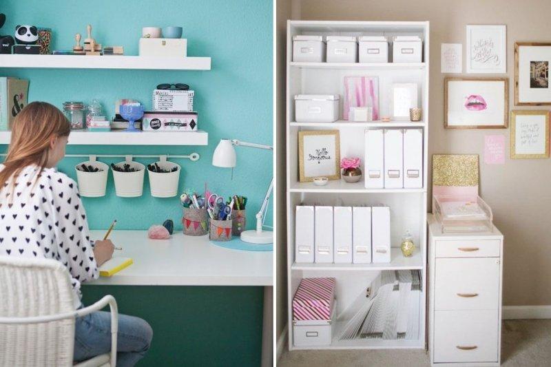 書桌總是找不到桌面嗎?試試看這幾個雜物收納術重新找回它吧!